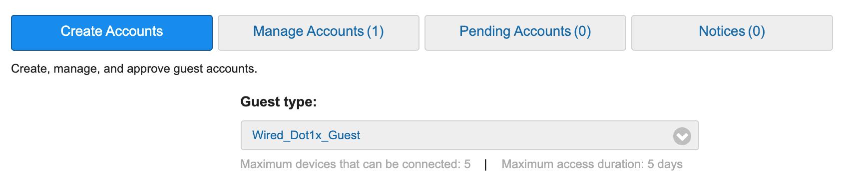 Sponsor portal create guest user